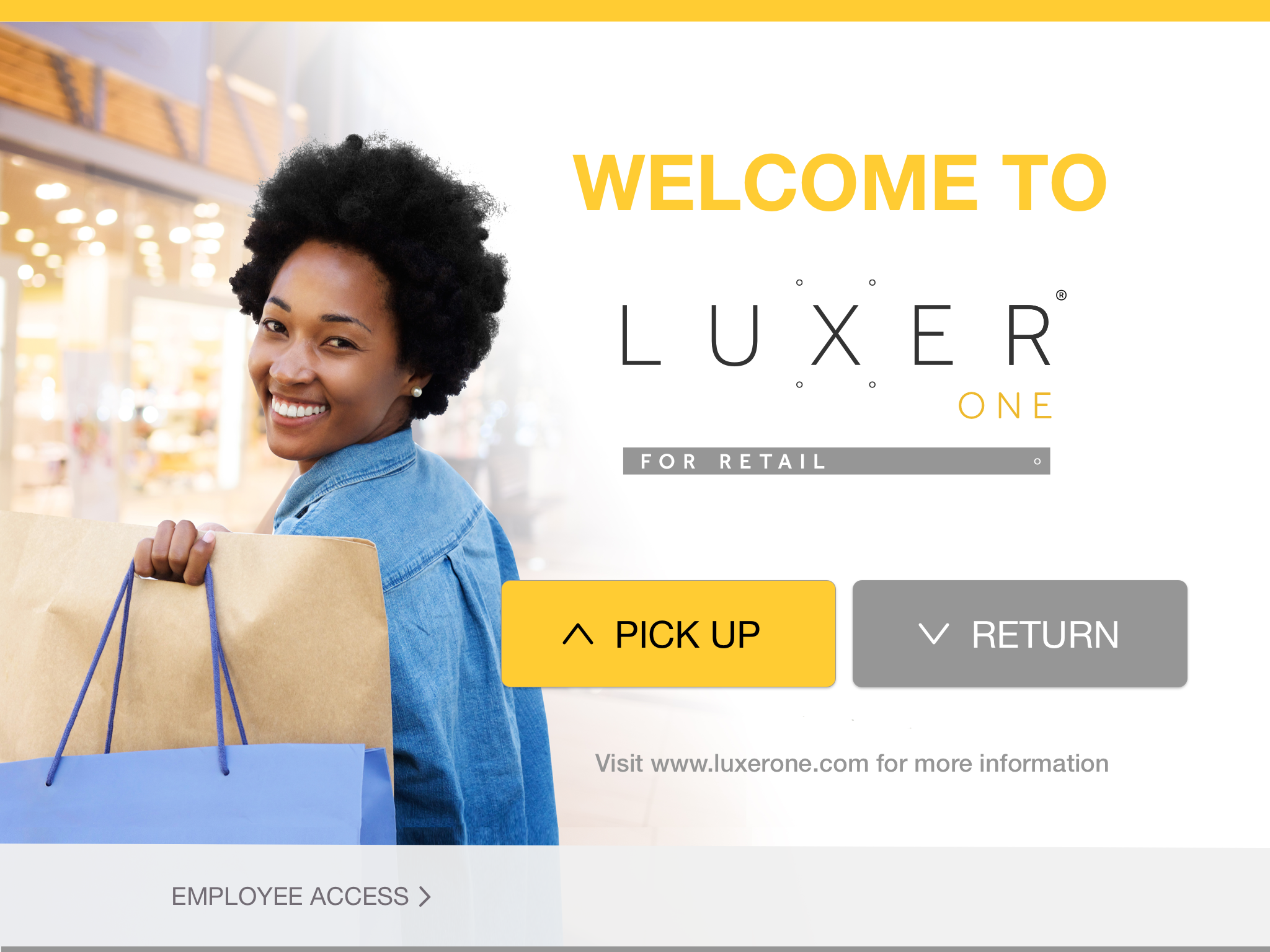 Luxer One for Retail Welcome Screen Copy@2x