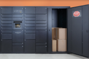The Luxer One Oversized Locker manages oversized and overflow.